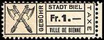 Switzerland Biel Bienne 1921 revenue 1Fr - 49.jpg
