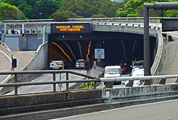 Sydney Harbour Tunnel, from Conservatorium Road, Sydney, New South Wales (2011-03-09) 01.jpg