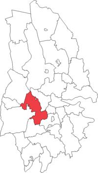 Lekebergs landskommune i Örebro amt