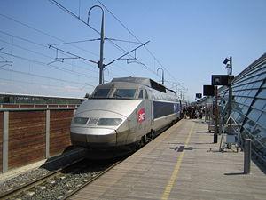 TGV at Avignon, France