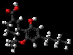 THC-11-oic acid molecule