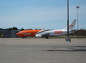 Turku Airport - TNT