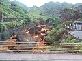 TW 台灣 Taiwan 新北市 New Taipei 瑞芳區 Ruifang District 洞頂路 Road 黃金瀑布 Golden Waterfall August 2019 SSG 04.jpg