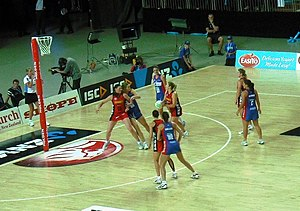 Sport in New Zealand - ANZ Championship match between the Tactix and Mystics