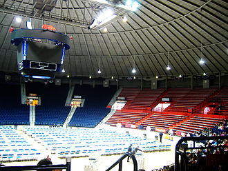 Tad Smith Coliseum - Inside