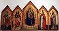 Taddeo gaddi, madonna col bambino e quattro santi, 1330-40 ca., da s. jacopo a voltiggiano 01.JPG