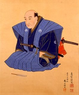 Takashima Shūhan Samurai who started to import flintlock guns.