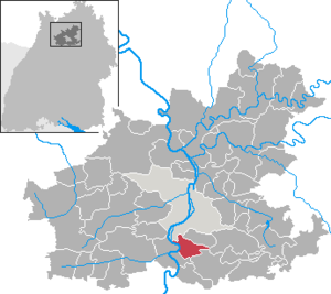 Talheim Death Pit - The town of Talheim, in the state of Baden-Württemberg, Germany.