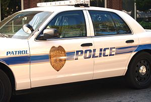 English: Tallahassee Police Patrol Car