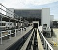 Tampa International Airport view from shuttle approaching Airside E.jpg