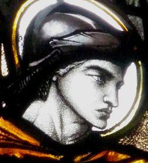 Rachel de Montmorency - Window in St Botolph's Church, Cambridge