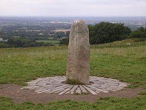 High King of Ireland - High Kings were traditionally installed on the Hill of Tara. The Lia Fáil (pictured) shouted the rightful king's name when he placed his foot on it, according to tradition.