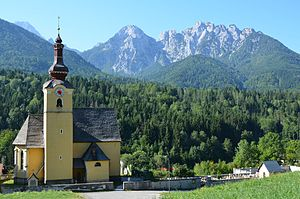 Fusine in Valromana - St. Leonard Catholic church