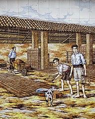 Taulells valencians a l'espai públic de Guadassuar. Detall 3.jpg