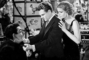 Taxi! - David Landau, James Cagney, and Loretta Young in Taxi! (1932)