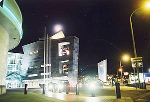 Museum of New Zealand Te Papa Tongarewa - Image: Te Papa Full Moon