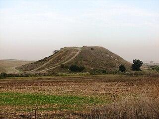 Tel Qashish mountain in Israel