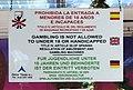 Tenerife, sala de juegos, placa prohibitoria, 1.jpeg