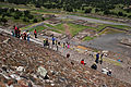 Teotihuacan Pyramid of the sun stairs 10.jpg