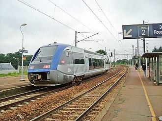 SNCF Class X 73500 - A X73500 at Bréauté-Beuzeville