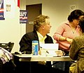 Terry McAuliffe joins volunteers at the Hillary Clinton national headquarters on February 27, 2008 (2297616708) (cropped).jpg