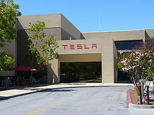 TeslaMotors HQ PaloAlto - tesla's Need For Graphite