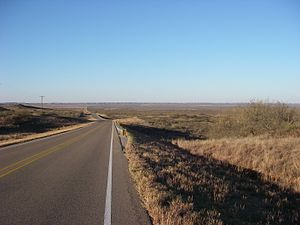 Texas State Highway 207 - Image: Texas Hwy 207 Crosby County 2009