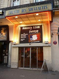 Théâtre des Nouveautés theatre at boulevard Poissonnière, Paris, France
