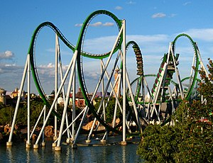 Islands of Adventure - The Incredible Hulk coaster