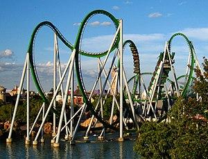 Islands of Adventure - The Incredible Hulk coaster