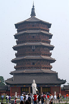 The Wooden Tower Of Ying, Shanxi