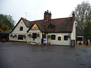 The Beehive, Welwyn Garden City - The Beehive