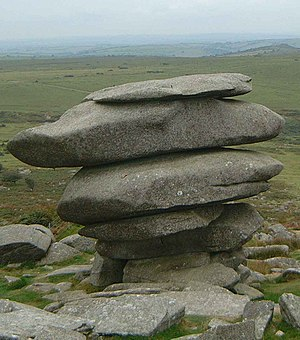 Granite - The Cheesewring, a granite tor