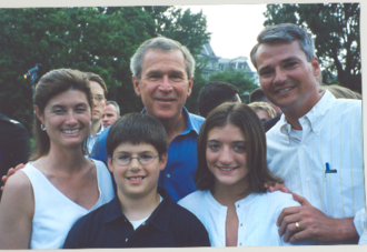 Chris Chocola - The Chocola Family with President George W. Bush