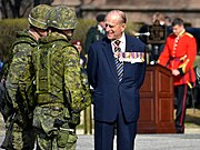 The Duke of Edinburgh as Colonel-in-Chief of the Royal Canadian Regiment