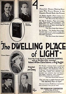 <i>The Dwelling Place of Light</i> (film) 1920 film by Jack Conway