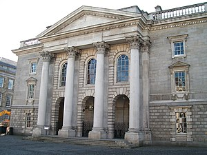 University of Dublin - The Public Theatre, where Public Commencements take place.