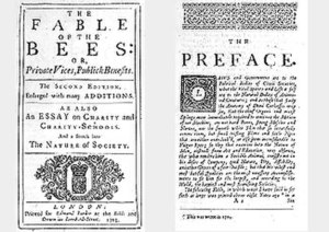 The Fable of the Bees - Image: The Fable of the Bees (1705)