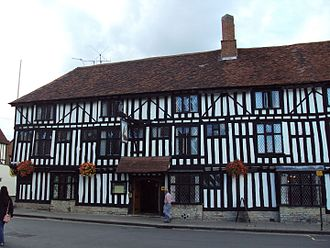 Stratford-upon-Avon - The Falcon Hotel, one of many employers in the hospitality industry within Stratford