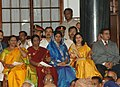 The Family members of the President, Smt. Pratibha Patil at a swearing-in ceremony in the central hall of Parliament, in New Delhi on July 25, 2007.jpg