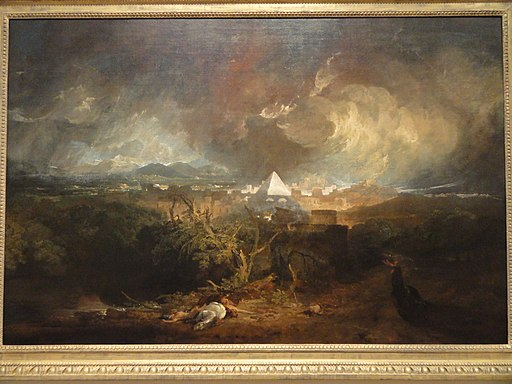 The Fifth Plague of Egypt, Turner - Indianapolis Museum of Art - DSC00690