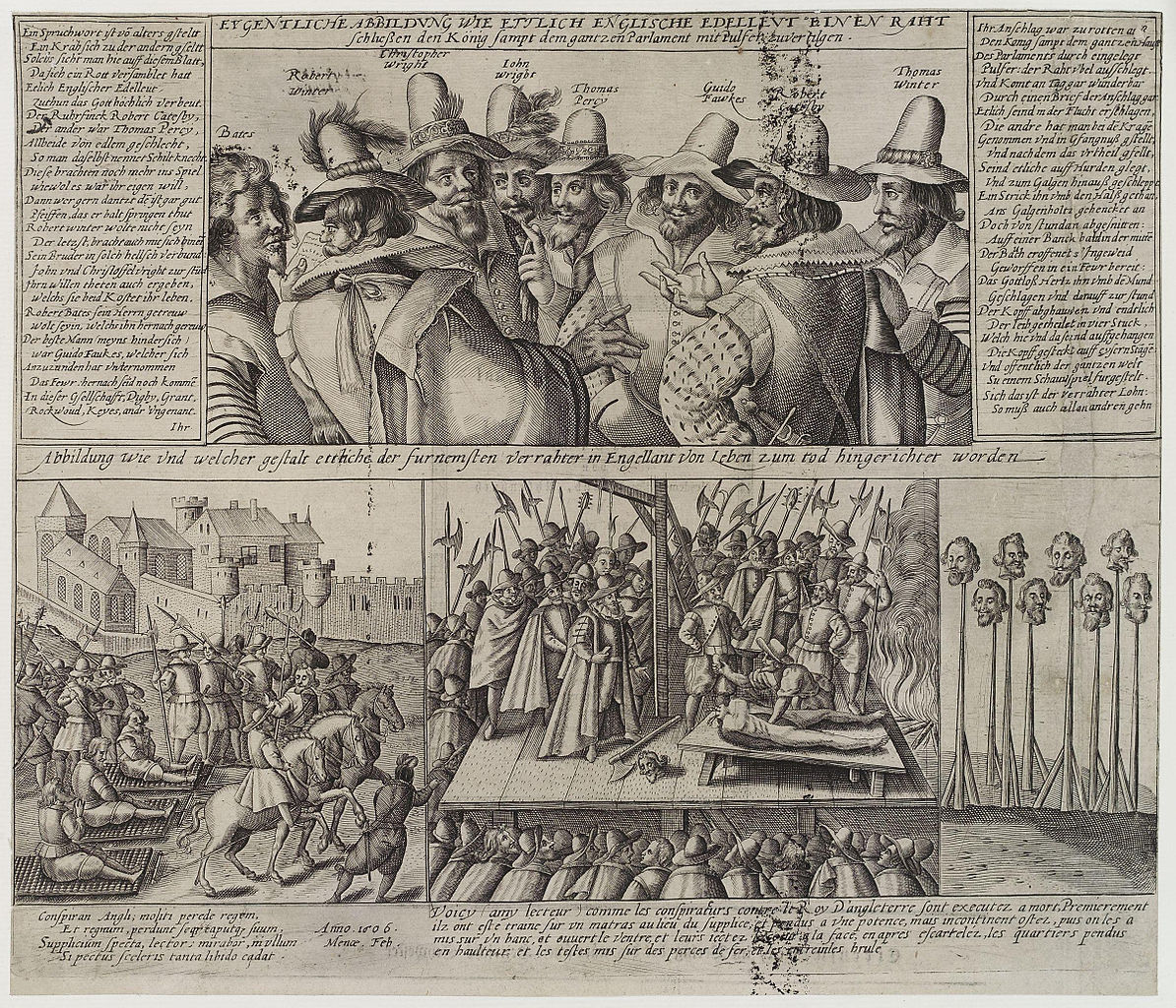 essay on the gunpowder plot of 1605 Find out how the discovery of the gunpowder plot affected the treatment of catholics in england and in succeeding centuries, and about the growth of toleration and the catholic emancipation act of 1829 commemoration of the gunpowder plot.