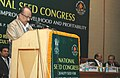 The Minister of State of Agriculture, Consumer Affairs, Food & Public Distribution, Professor K.V. Thomas addressing at the inauguration of National Seed Congress, in New Delhi on January 18, 2010.jpg