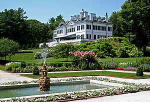 Save America's Treasures - Edith Wharton's home, The Mount, Lenox, MA, 1999 Awardee