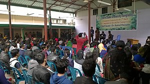 Notre Dame University Bangladesh - Image: The Orientation Ceremony for the Second Batch of NDUB2