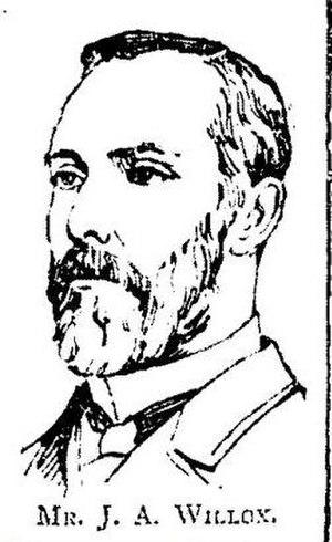 John A. Willox - John Archibald Willox pictured in the Pall Mall Gazette following his election to Parliament