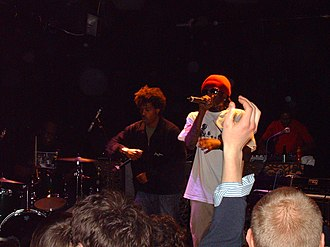 The Pharcyde - The Pharcyde performing at The Village club in Dublin on March 17, 2006