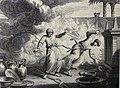 The Phillip Medhurst Picture Torah 527. Nadab and Abihu destroyed. Leviticus cap 10 vv 1-2. Dutch Bible.jpg