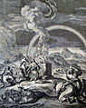 The Phillip Medhurst Picture Torah 65. Rainbow. Genesis cap 8 vv 20, 22. Jan Luyken.jpg