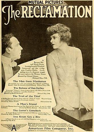 Edward Sloman - The Reclamation (1916)